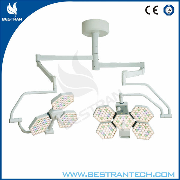 China BT-LED3+5 Hospital medical dual head led shadowless operation theatre light /surgical operating lamp