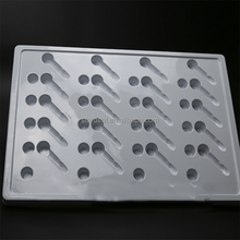 Shenzhen factory manufacturer ps hardware plastic clamshell packaging tray for screw