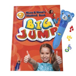 Brilliant Birthday Gift Sound Pen and English Book Big Jump 10 Books for Students Learning English