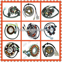 Motorcycle magneto stator coil with 6 / 8 / 18wires