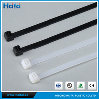 Haitai Factory Specialized Flame Retardant Numbered Nylon Cable Ties/Electric Wire Bundle