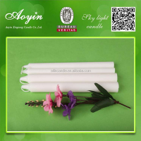 Wholesale AY25D Tall White CandleS/Daily Use CandleS/ Candle Wax