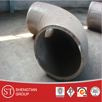 ss304 BW seamless equal stainless steel pipe fitting tee