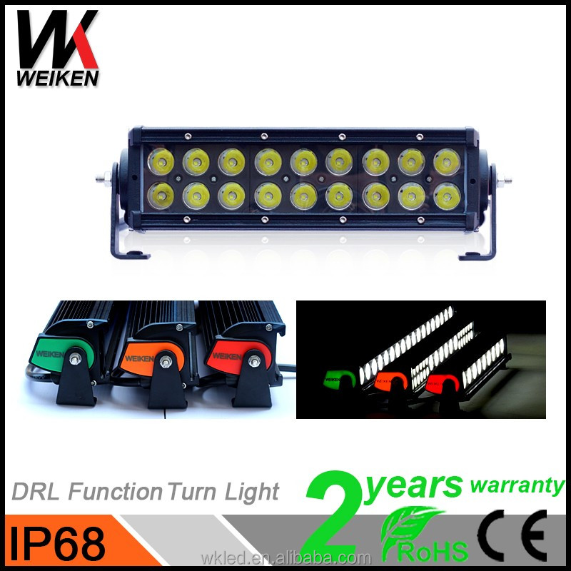 Cre e 54w LED Light Bars waterproof atv 4x4 truck spot lights led for car and motorcycle accessories parts