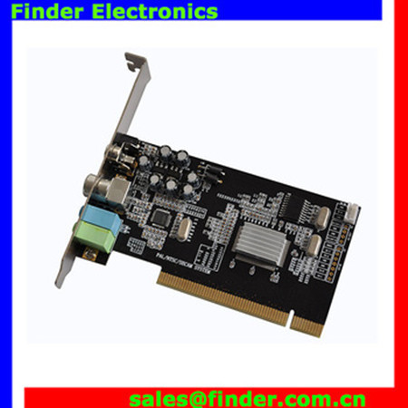 PCI adapter card TV card without FM