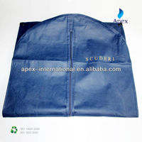 high quality non-woven suit cover bag with silkscreen print
