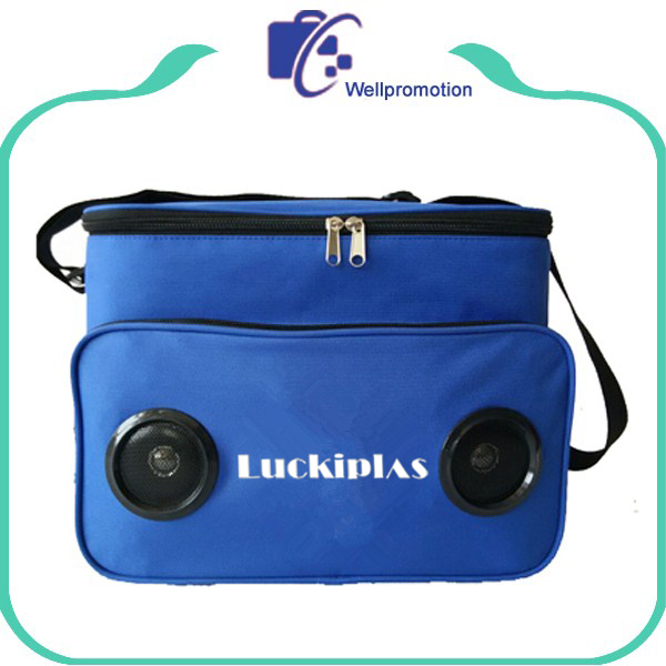 Fitness picnic insulated cooler bag radio