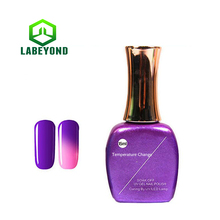 High quality Temperature Changing color gel nail polish