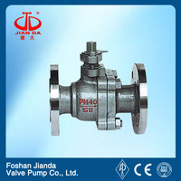 3PC long stem ball valve with high quality