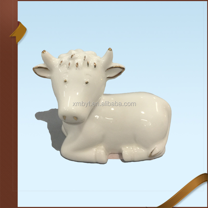 Ceramic Bible Religious Sheep Statue Figurine Nativity Scene Wholesale