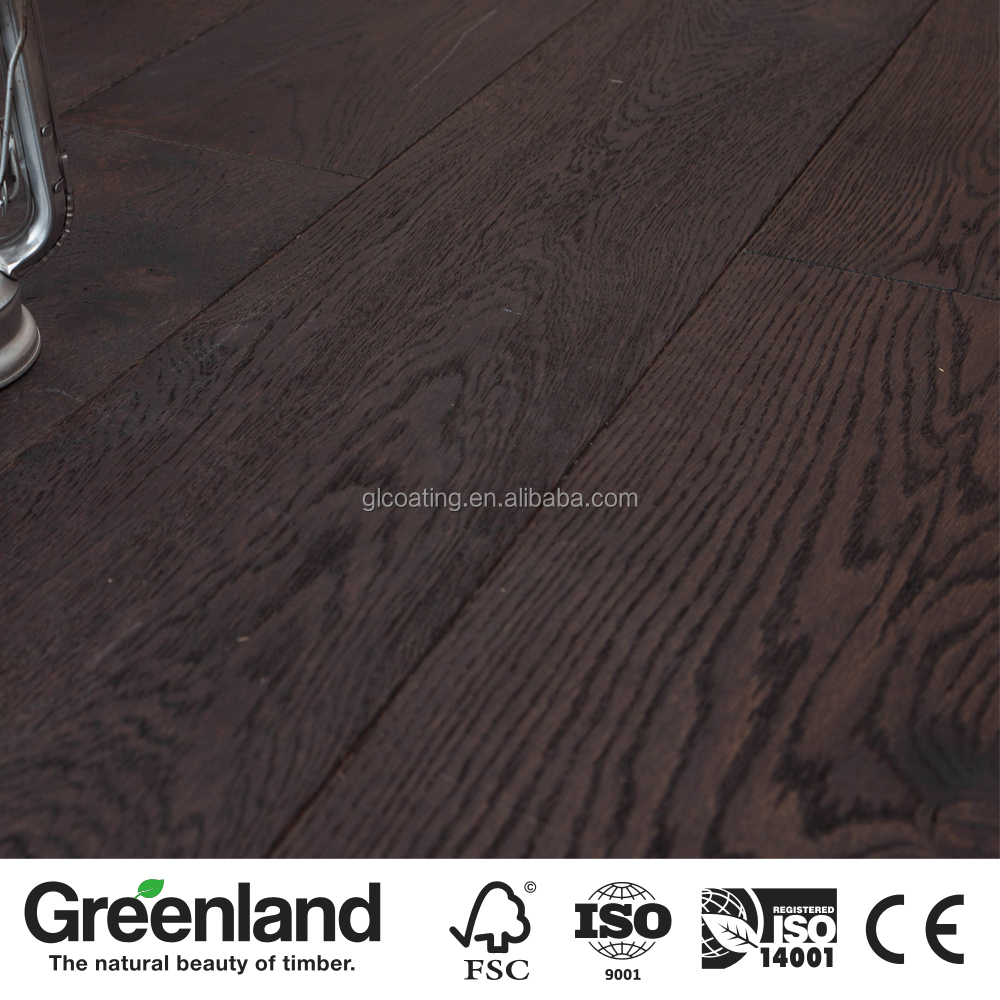 2-ply Brushed Wide Plank Engineered OAK Wood Flooring for Meetingroom