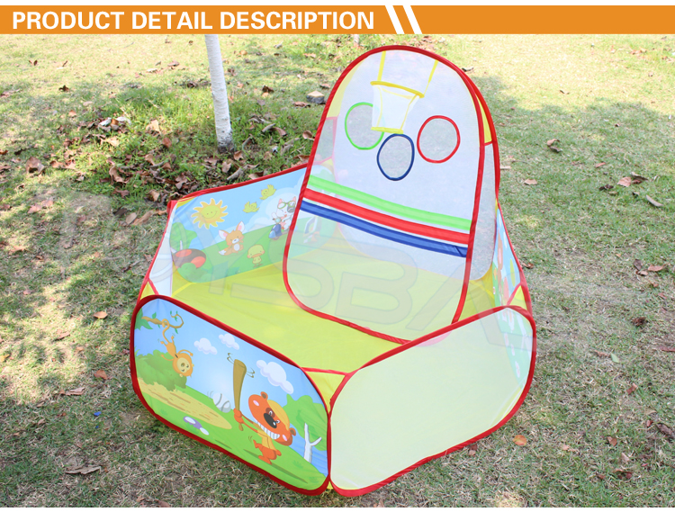 Toddler garden play tent pool baby ball pit with for Baby garden pool