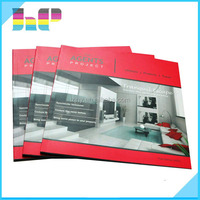 High quality saddle stitch book printer cheap company catalog printing for sale
