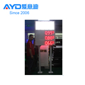 Gas Station Oil Price Changer Cheap Display Cabinet Electronic 7 Segment LED Scoreboard