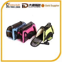 600d polyester duarable foldable portable pet travel bag in pet cages ,carriers & houses