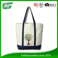canvas tote bag shopping bag for wholesale