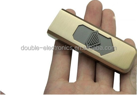 USB Electronic Lighter rechargeabe plastic cigarette usb lighter Flameless USB Lighter
