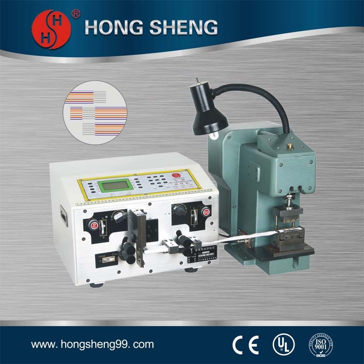 strip and cut machine,wire cutting stripping dividing machine for ribbon cable,line wire