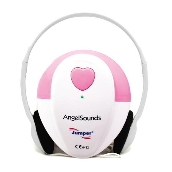 CE&FD approved Angelsounds baby heart beat detector fetal doppler 100S with CE approved from jumper