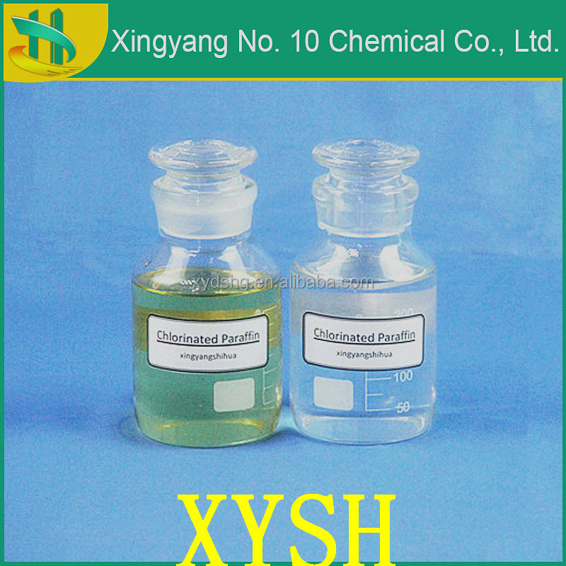 Plastic products fillers Flame retardant Chlorinated Paraffin 52 soluble in organic solvent