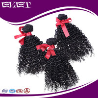 EVET Hair Malaysian Curly Machine Weft Virgin Human Hair Weave Bundles Cheap Afro Kinky Curly Hair Extensions For Black Women