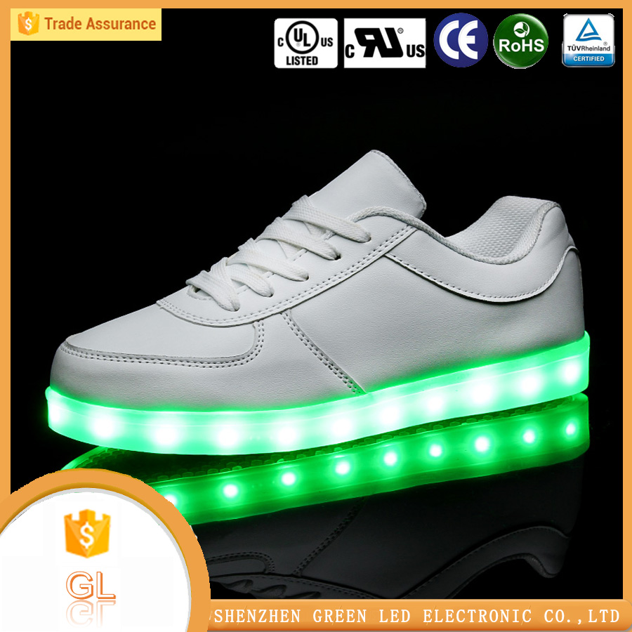 LOW price accept custom footwear luminous simulation led shoes ,led dance shoes