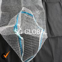 Alibaba china PP leno packing garlic big medium small net mesh bags wholesale