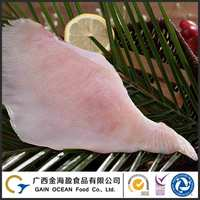 Fresh Sea Food IQP Frozen Rays(skate wing skinless) fillet