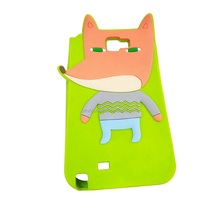 2018 new soft silicone 100% customizable fashion animal shape cell phone case&cover