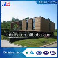 prefabricated luxury hotel container