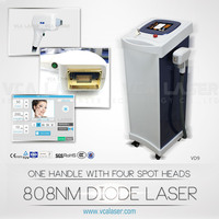 VCA Laser 808nm didoe laser threading hair removal Germany scan