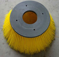 Rotary road sweeper brush for Tennant sweeper