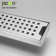 stainless steel floor drain with syphon