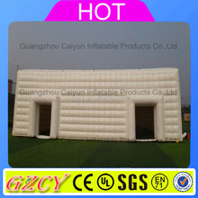 Customized large inflatable cube/ cube inflatable tent/ white inflatable cube tents