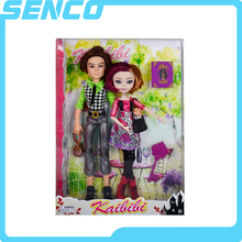Eco-friendly material toys for beautiful girls dolls made in China