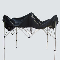 Trade show hexagon aluminum material waterproof canopy pop up tent