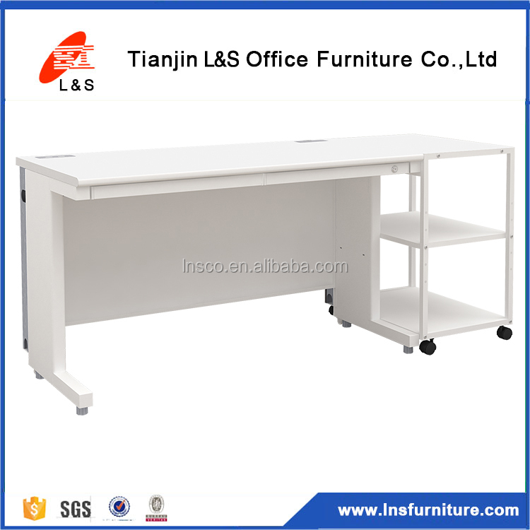 Office side desk/office furniture side shelf/steel file rack