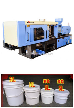plastic bucket crate injection molding machine with competitive prices