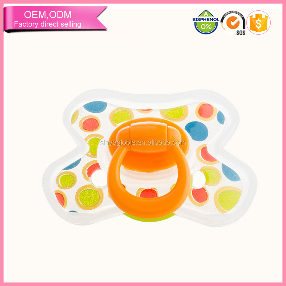 Hot selling babies pacifier box billy bob pacifiers