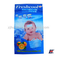 2013 hot sell new product fruit smell ice menthol baby kids hydrogel fever reducing gel cooling toothache relief patch