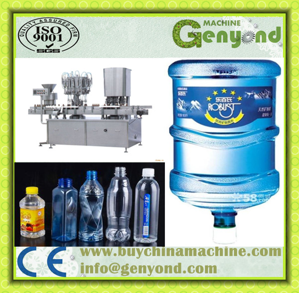 Automatic PET Bottle Spring Water Packaging / Spring Water Filling Machine