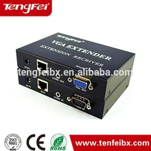 Factory Sell VGA TO RJ45 utp CAT5 CAT6 Adapter Lan cable Extender Connector vga extender
