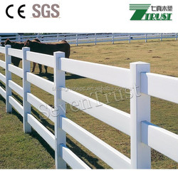 White color and no crackle vinyl fence to your garden