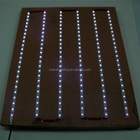 5050 uv led strip ip67 waterproof 10mm white pcb, 30leds/m purple light flexible strip light with CE ROHS