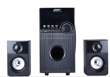 Hot sell!!! wooden cabinet 2.1 multimedia speaker with stereo sound