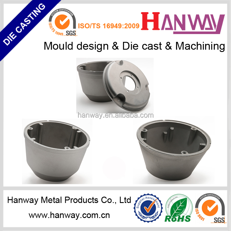 china manufacturers cnc machining aluminum die casting for security cctv camera system housing