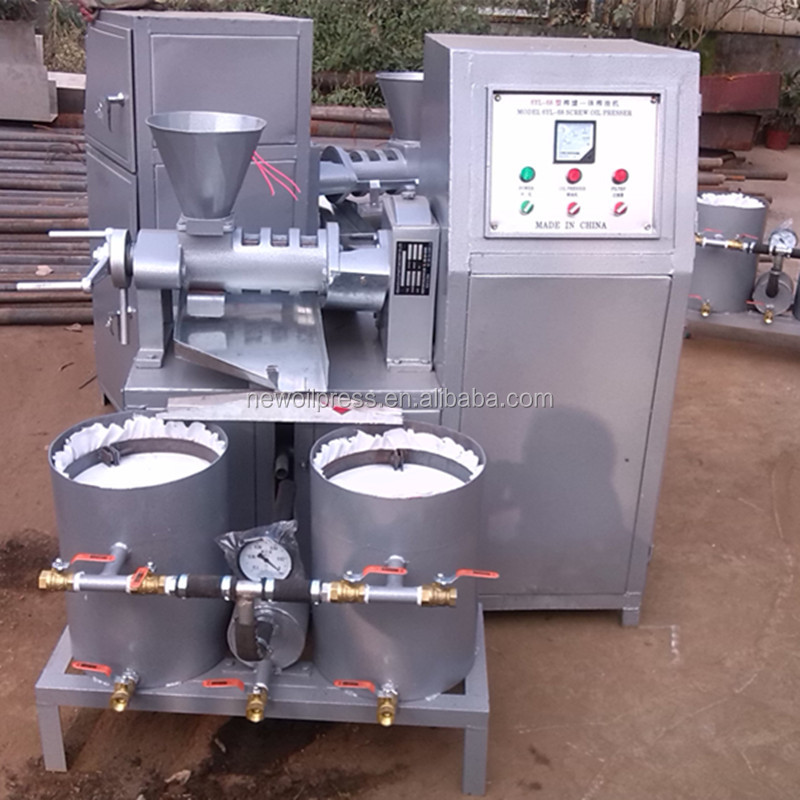 Automatic Filter Oil Press for oil bearing seeds