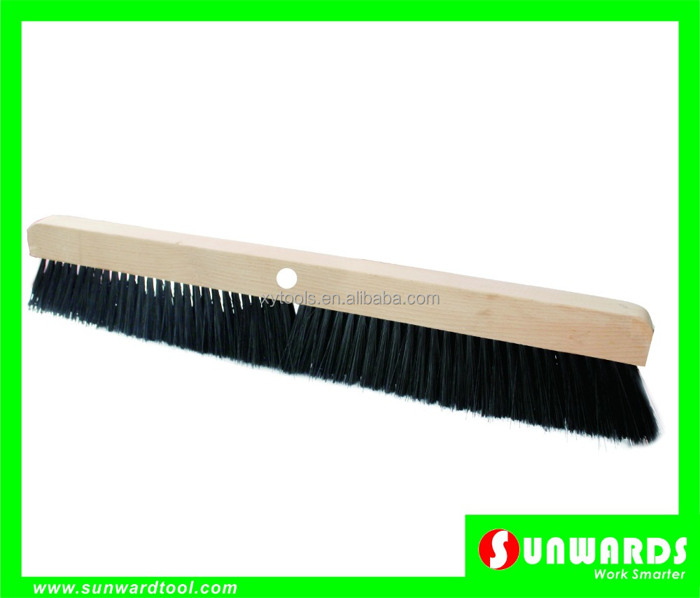 Concrete smoother brush with single threaded hole,Driveway applicator