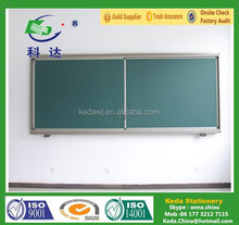 School Green board Whiteboard Writing Board Sliding Blackboard for sale