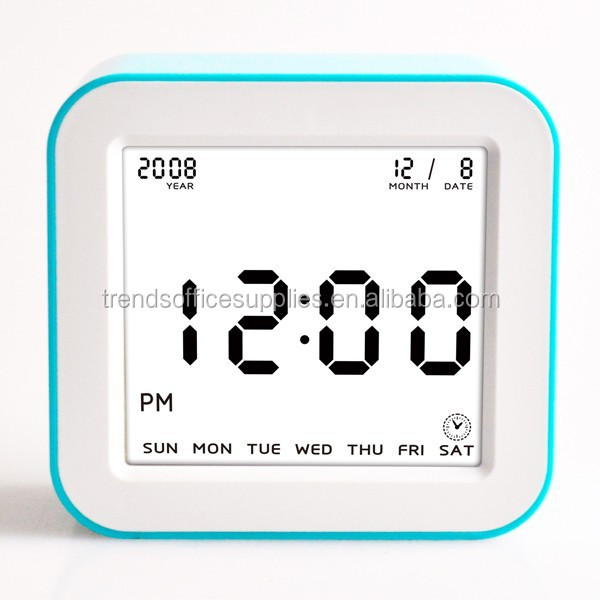 date and day flip clock, day month year clock